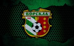wallpapers Vorskla 4k logo Ukrainian Premier League