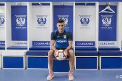Óscar Rodríguez joins Leganés on loan