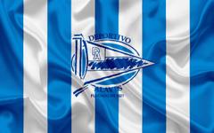 wallpapers Deportivo Alaves football club emblem logo