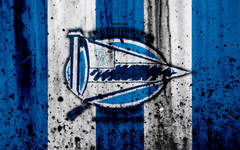 El Deportivo Alaves 4k el grunge la Liga la piedra la textura
