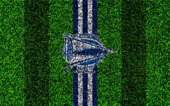 wallpapers Deportivo Alaves FC 4k logo football lawn