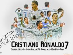 Cristiano Ronaldo La Liga Goal Scoring Record wallpapers