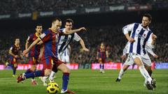 Wallpapers Iniesta Fc Barcelona Real Sociedad La Liga Liga