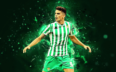 wallpapers Marc Bartra spanish footballers Real Betis FC