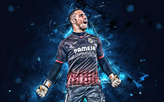 wallpapers Sergio Asenjo goalkeeper Villarreal FC La