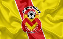wallpapers Monarcas FC 4K Mexican Football Club emblem