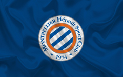 wallpapers Montpellier HSC Football club emblem