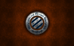 wallpapers HSC Montpellier French football club orange