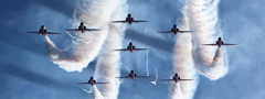 Aircraft airplanes aerobatics smoke jets military fighters wallpapers