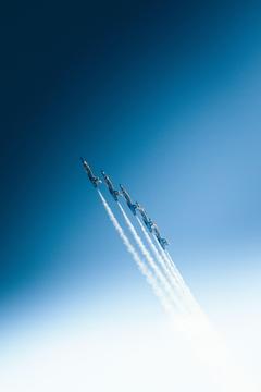 Aerobatics Airplanes Smoke Wallpapers For Tech