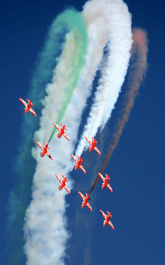 Broadsword 21 more Hawks for IAF s Surya Kiran aerobatics display team