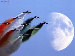 Aircraft Planes Frecce Tricolori Italian Air Force Aerobatic Team