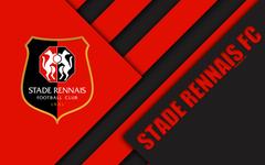 wallpapers Stade Rennais FC 4k material design logo