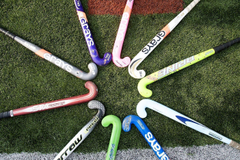 Image For Field Hockey Stick And Ball