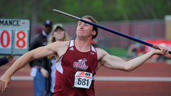 Collins Decathlon Performance Highlights Busy Saturday For Men s