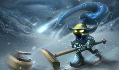 LoL Curling Veigar Skin From Chinese Wallpapers League of