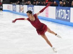 Winter Olympics figure skating Evgenia Medvedeva is talented and