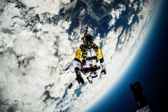 m Mont Blanc skydive video