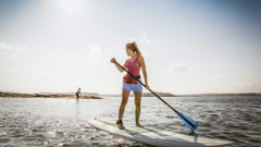 Maine Stand Up Paddle Boarding Vacation Resorts with SUP Kayaking