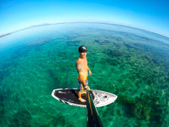 Standup paddleboarding spots in French Polynesia Mahina