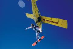 Skysurfing for Coke
