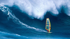 Windsurfing surfing