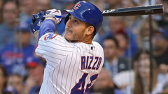 Anthony Rizzo from retaliation leads off with HR for Cubs
