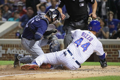 Thanks to Anthony Rizzo s slide and Joe Maddon the Cubs are now