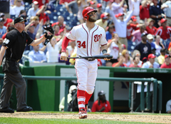 Nationals Matt Williams on Bryce Harper leading without saying a