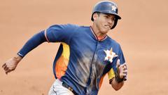 Astros promote former No 1 pick Carlos Correa to Triple