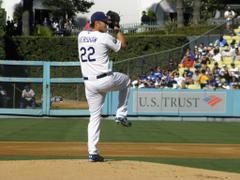 LA Dodgers Clayton Kershaw No