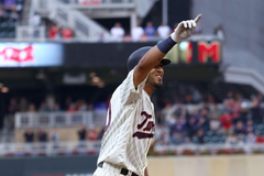Twins 7 Cleveland 5 Eddie Rosario put the team on his back