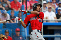 Twins promote prospect Eddie Rosario