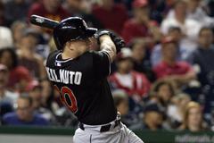 Miami Marlins prospects Tyler Kolek J T Realmuto in Keith Law s