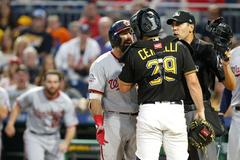 Washington Nationals Pittsburgh Pirates renew hostilities but