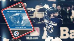 Blue Jays Josh Donaldson beats Bryce Harper for Sporting News MLB