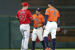 Astros second baseman Jose Altuve finishes in 3rd place in MVP
