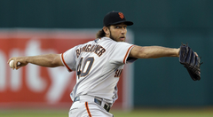Bumgarner Nearly Throws Perfect Game Against Padres