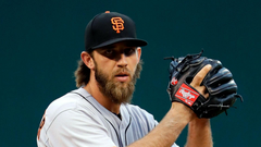 Giants Madison Bumgarner says he ll refuse to enter game following