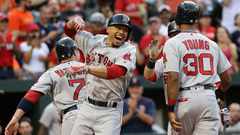 Moments of Greatness Mookie Betts slams three homers for Red Sox