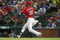 The emergence of Rangers rookie Nomar Mazara
