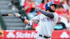 WATCH Rangers rookie Nomar Mazara crushes 491