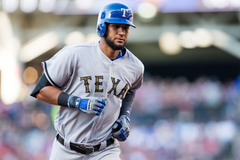 Nomar Mazara is A L Rookie of the Month Again