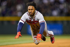 Ozzie Albies the wizard of grounders and flies