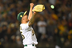 Oakland A s Twitter roundup All the hits from Sean Manaea s no