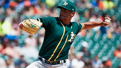 A s pitcher Sean Manaea is feeling great following shoulder
