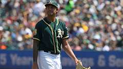 A s ace Sean Manaea shut down indefinitely with shoulder tendinitis