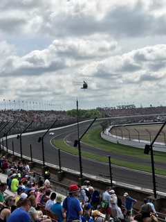Indianapolis Motor Speedway section N W Vista row 33