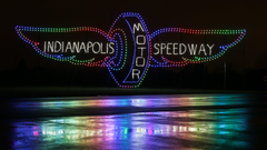 See What the Indianapolis Motor Speedway Looks Like Decorated With