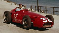 Juan Manuel Fangio wallpapers image quotes Ferrari Mercedes